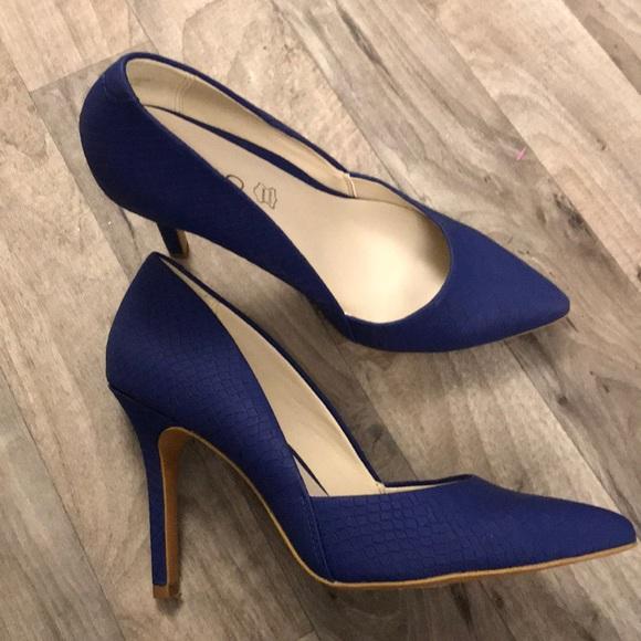blue aldo heels coupon cc546 1c78e